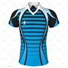 Rugby Shirt Pro-Fit Classic Collar Front View Design