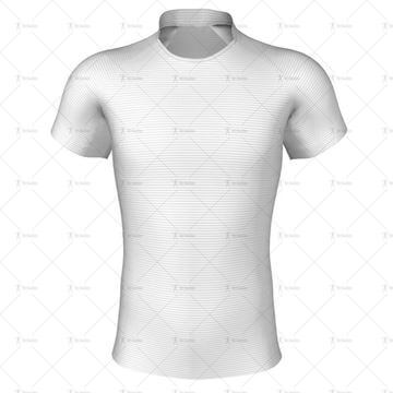 Eden Collar for Pro-fit Rugby Shirt Front View