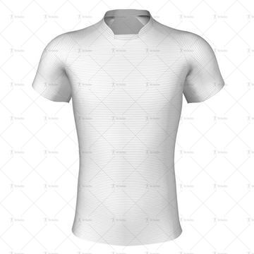 Kiwi Collar for Pro-fit Rugby Shirt Front View
