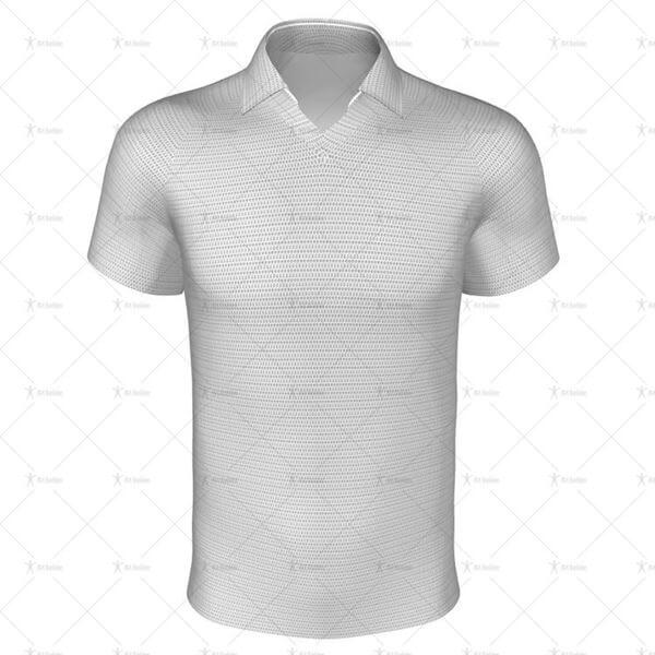 Rugby Shirt Regular-Fit Classic Collar Front View