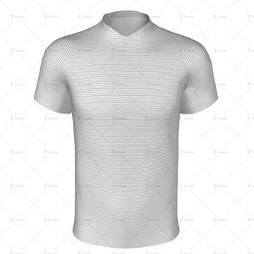 Palma Collar for Regular-fit Rugby Shirt Front View