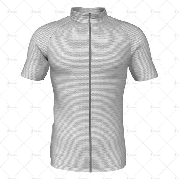 Mens Raglan Cycling Jersey Front View