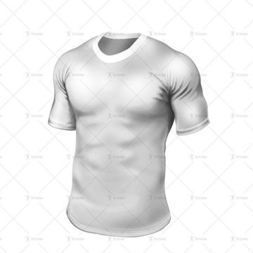 Bermuda Collar for Tight-Fit Rugby Shirt Front View