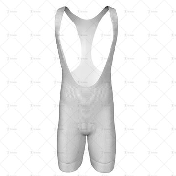 Mens Cycling Bib Shorts Front View