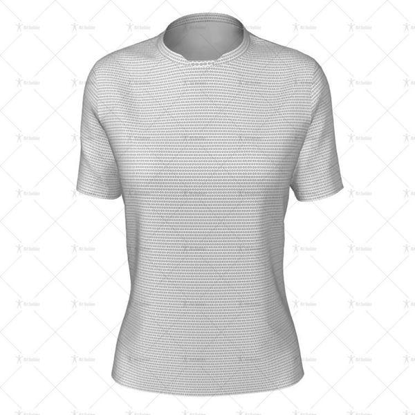 Insert Collar for Womens SS Inline Football Shirt Front View
