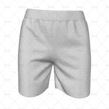 Womens Football Shorts Front View