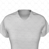 Womens Collar for Womens Raglan Polo Shirt Close Up View
