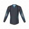 V-Neck Collar for Cricket Long Sleeve Slipover Front View Design