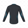 V-Neck Collar for Cricket Long Sleeve Slipover Back View Design