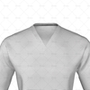 V-Neck Collar for Cricket Long Sleeve Slipover Collar Close up
