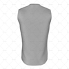 Cricket Sleeveless Slipover V-Neck Collar Back View