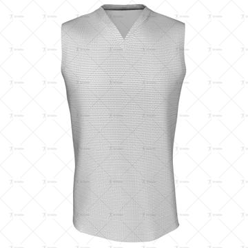Cricket Sleeveless Slipover V-Neck Collar Front View