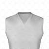 V-Neck Collar for Cricket Sleeveless Slipover Close up View