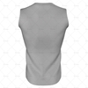 Round Collar for Mens AFL Jersey Back View