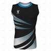 Round Collar for Mens AFL Jersey Front View Design