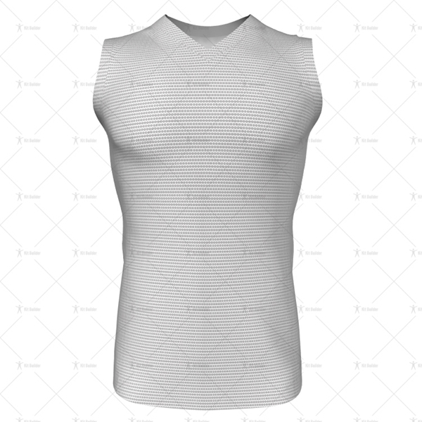 V-Neck Collar for Mens AFL Jersey Front View