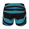 Mens AFL Shorts Back View Design
