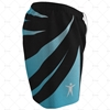 Mens AFL Shorts Side View Design