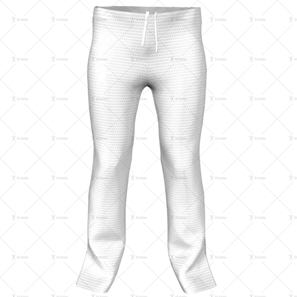 Childrens Quarter Length Zip Track Pant Front View