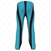 Childrens Quarter Length Zip Track Pant Back View Design