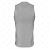 Mens AFL Vest Insert Collar Back View