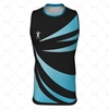 Mens AFL Vest Insert Collar Front View Design