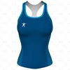 Womens Gym Top Front View Design