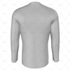 Inline Jersey V-Neck Collar Back View
