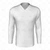 Inline Jersey V-Neck Collar Front View