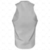 Mens Racerback Singlet Round Collar Back View