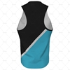 Mens Racerback Singlet Round Collar Back View Design
