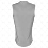 Basketball Singlet Long V-Neck Collar Back View