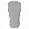 Basketball Singlet Long Round Collar Back View