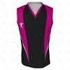 Basketball Singlet Short V-Neck Collar Front View Design