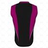 Basketball Singlet Short V-Neck Collar Back View Design