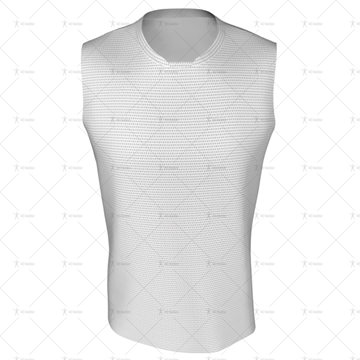 Basketball Singlet Short Insert Collar Front View