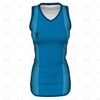 Womens Sports Racerback Dress Round Collar Front View Design
