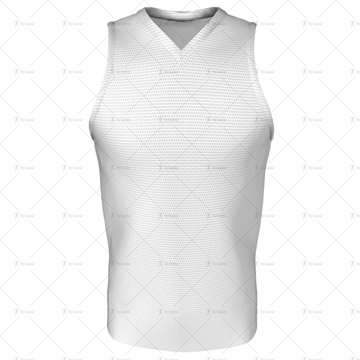 Mens Hockey Tank V-Neck Front View