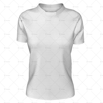 Womens Hockey Jersey Round Collar Front View