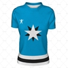 Womens Hockey Jersey Round Collar Front View Design