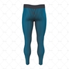 Mens Compression Leggings Back View Design