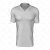 Wrap Collar For Mens SS Raglan Football Shirt Front View