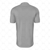 Wrap Collar For Mens SS Raglan Football Shirt Back View