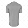 Polo Collar For Mens SS Raglan Football Shirt Back View