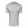 Pinched Collar For Mens SS Raglan Football Shirt Front View