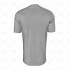 Round Wrap Collar For Mens SS Raglan Football Shirt Back View