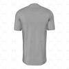 Grandad Collar For Mens SS Raglan Football Shirt Back View