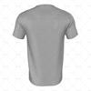 Mens SS Inline Football Shirt V-Neck Collar Back View