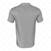 Grandad Collar for Mens SS Inline Football Shirt Back View