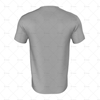 Round Collar for Mens SS Inline Football Shirt Back View